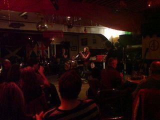 Katie Haigh sings at FR2